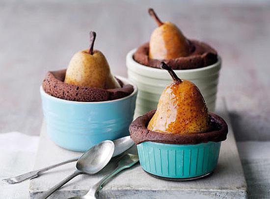 Шоколадный десерт с сюрпризом