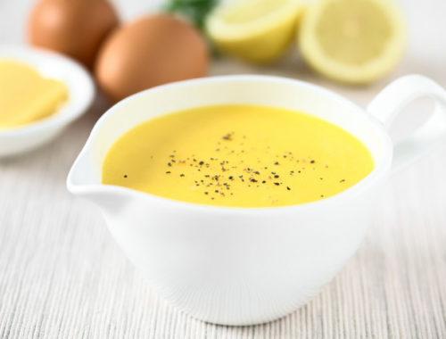 Яичный соус для макарон
