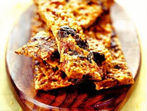 Хрустящее домашнее печенье без муки