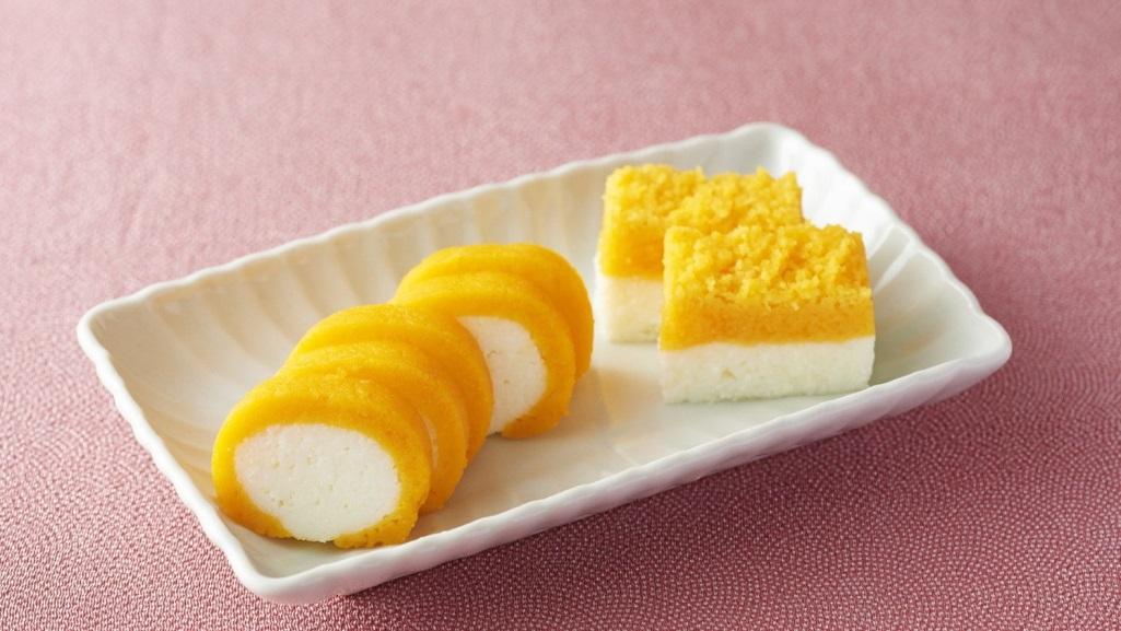 Нисики тамаго – японский яичный кекс
