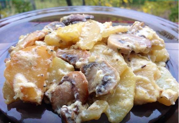 Пикантный картофель