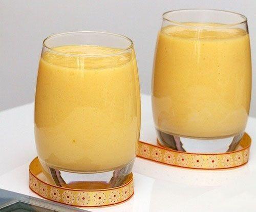 Коктейль из йогурта и абрикосов