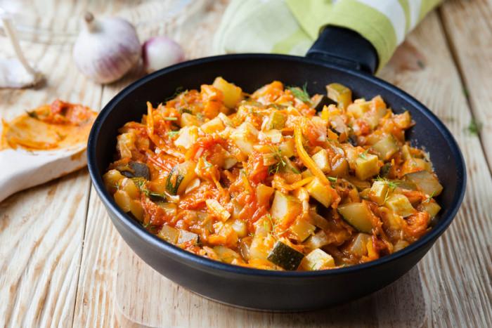 Овощное рагу с карри