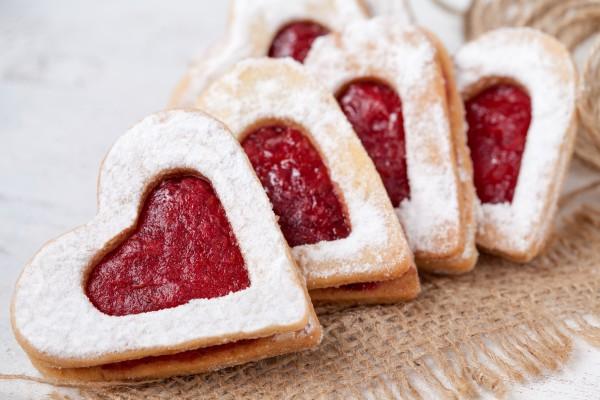 Ароматное печенье с джемом