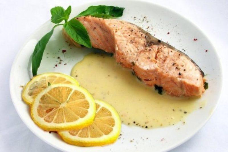 Рыба под лаймовым соусомРыба под лаймовым соусом