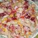 Салат из рыбных молок с болгарским перцем