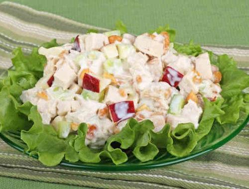 Вкусный салат «Восточный деликатес»