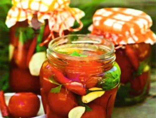 Способы консервирования помидоров
