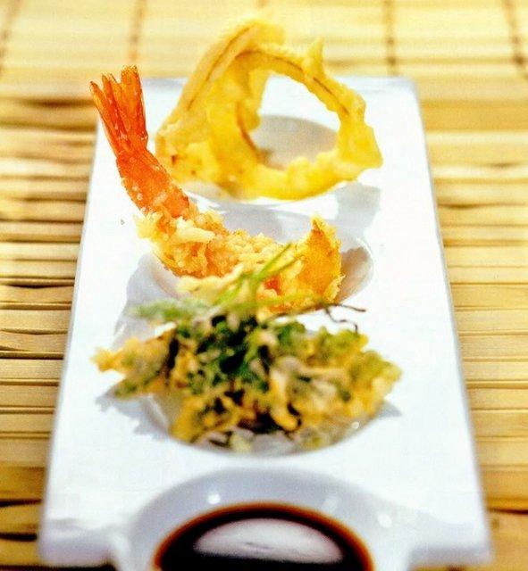 Темпура с морепродуктами