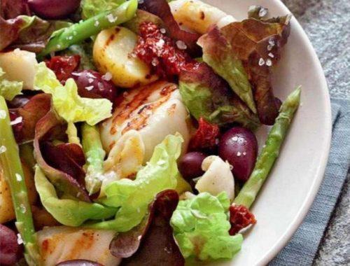 Теплый салат по-адриатически