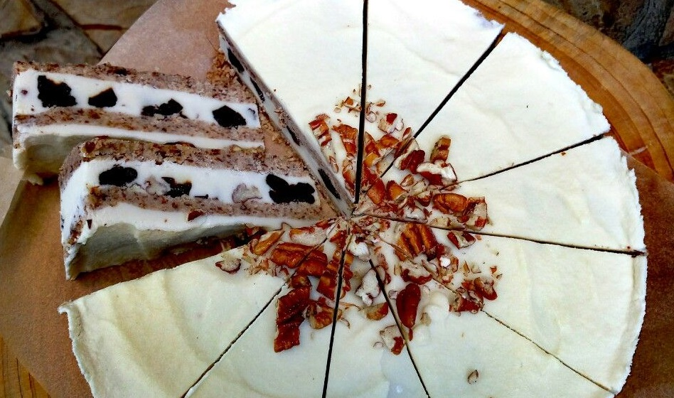 Торт с черносливом и арманьяком